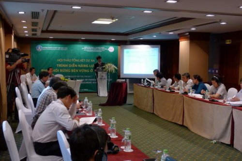 Demonstration of Capacity Building of Forest Restoration and Sustainable Forest Management in Vietnam