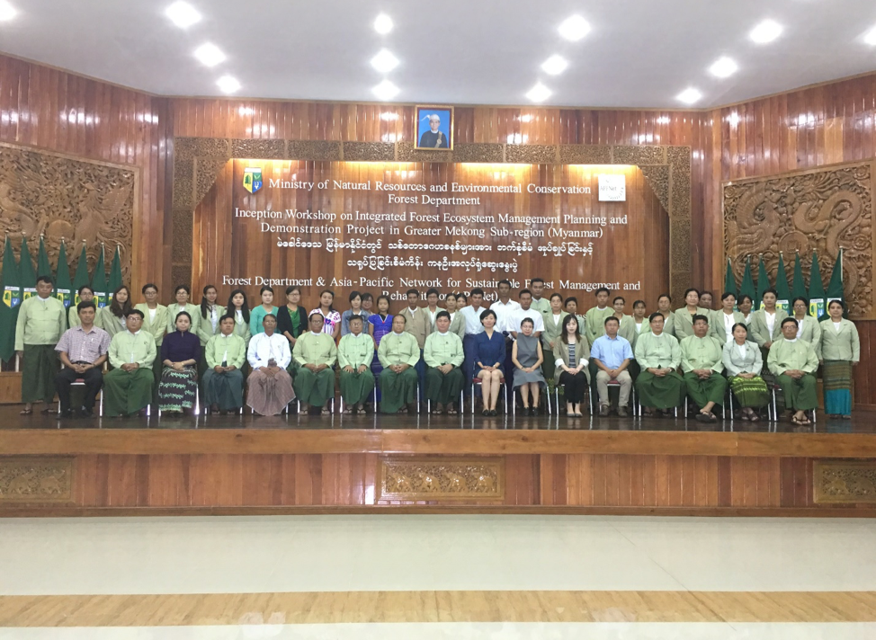 Supporting Myanmar to conserve forest germplasm resources and restore forest ecosystem services